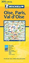 Oise/Paris/Val-D'Oise (Michelin Local Maps)
