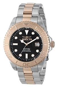 Invicta Men's 15188 Pro Diver Swiss Quartz Two Tone Watch with Impact Case