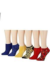 Tipi Toe Women's No Show Socks (6 or 12 Pack)