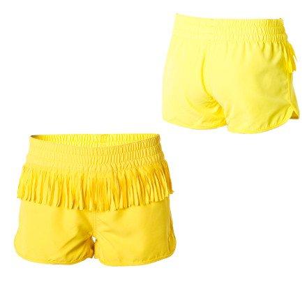 Roxy Sandcastle Shimmy Board Short - Girls' Sun Dance Yellow, S