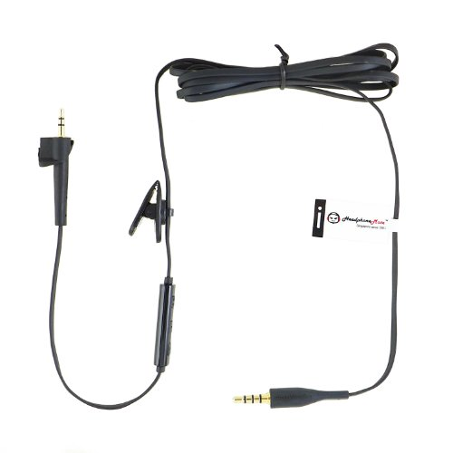 Headphonemate Inline Remote And Microphone Cable For Bose Ae2 Ae2W Headphones And Iphone