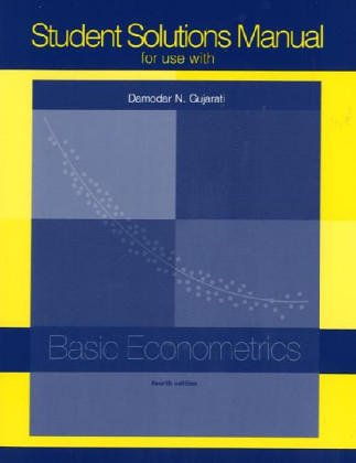 Student Solutions Manual t/a Basic Econometrics