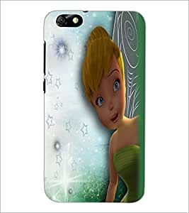 PrintDhaba Cute Girl D-2283 Back Case Cover for HUAWEI HONOR 4X (Multi-Coloured)