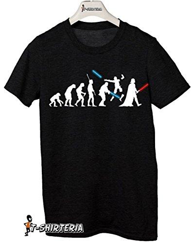 t-shirt Star wars Evolution, Spade, darth vader - Battaglia, tutte le taglie uomo donna maglietta by tshirteria