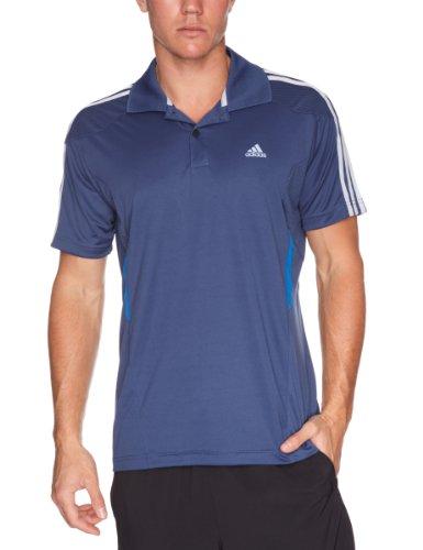 Adidas 365Q Polo Men's Shirt Blue Medium