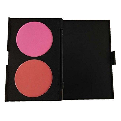 PhantomSky 2 Colori Polvere Blush Fard Viso Palette Trucco - Perfetto per l'uso quotidiano e professionale