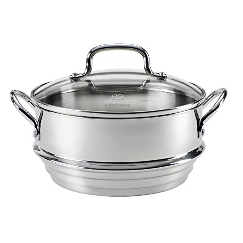 Calphalon Stainless Steel Universal Steamer Insert with Lid (Calphalon Insert compare prices)