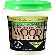 Eclectic Prod.40042112Famowood Water-Based Wood Filler-1/4PT CHERRY WOOD FILLER