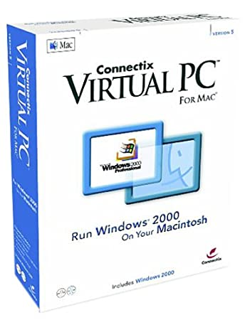Virtual PC 5 for Mac with Windows 2000