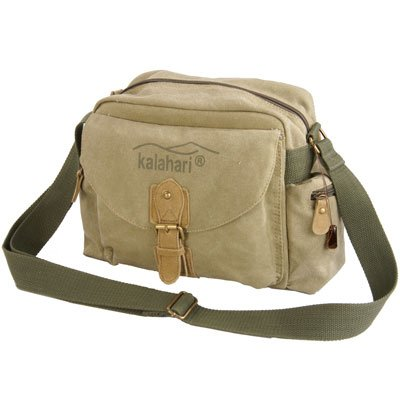 Kalahari Molopo K-41i Canvas Shoulder Bag for SLR Camera Khaki