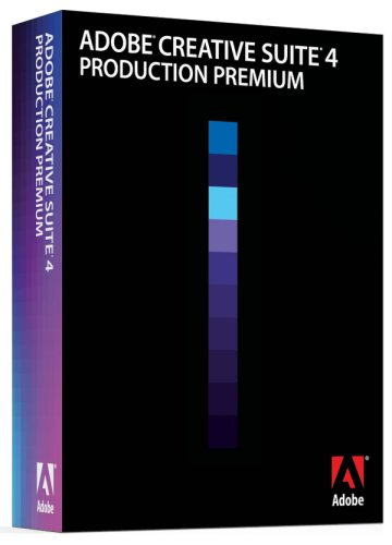 Adobe Creative Suite 4 Production Premium Upgrade [Mac]