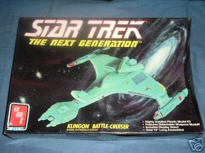 Star Trek The Next Generation Klingon Battle Cruiser Model Kit