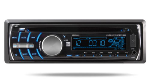 Dual XDM6351 In-Dash AM/FM/CD/MP3/WMA Player with Front Panel USB and SD Card Inputs