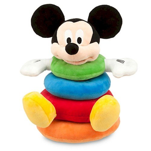 Disney-Mickey-Mouse-Plush-Stacking-Toy-for-Baby