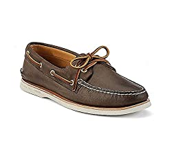 New Sperry Men\'s Gold Cup A/O Boat Shoe Brown 8.5