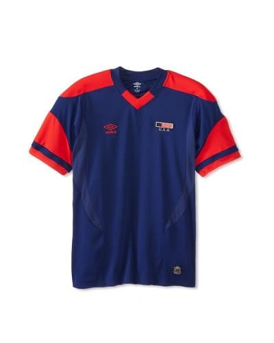Umbro Men's Pieced V-Neck Soccer Jersey Tee