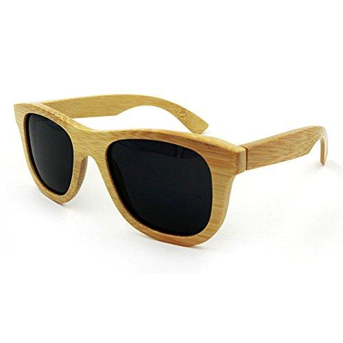 Fashion Men/Women Bamboo Polarized Sunglasses Eyewear Eyeglasses Wood sunglasses for Travel Holiday Shopping Party Driving Eyewear