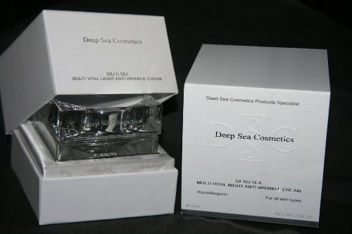 Deep Dead Sea Cosmetics Multivital Multi Vital Night Anti Wrinkle Cream Adore