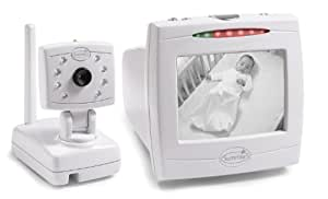 """Summer Infant Day & Night Baby Video Monitor with 5"""" Screen - White (Discontinued by Manufacturer)"""