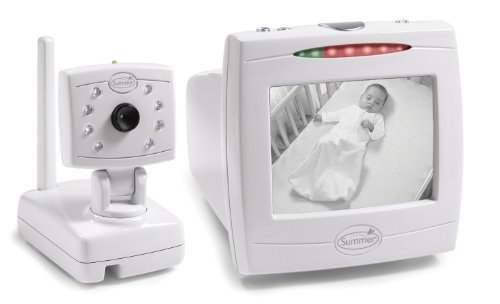 Summer Infant Day & Night Baby Video Monitor with 5