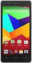 "bq Aquaris E5 LTE - Smartphone libre Android (pantalla 5"", cámara 13 Mp, 16 GB, Qualcomm Snapdragon 1.2 GHz, 1 GB RAM), blanco y negro"