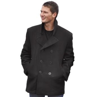 Mil-tec US Navy Pea Coat BLACK, SIZE XS