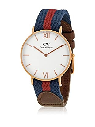 Daniel Wellington Reloj con movimiento cuarzo japonés Woman Grace London navy/burgundy/brown 36 mm