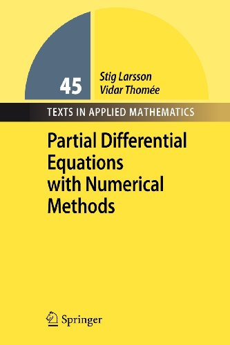 Partial Differential Equations with Numerical Methods...