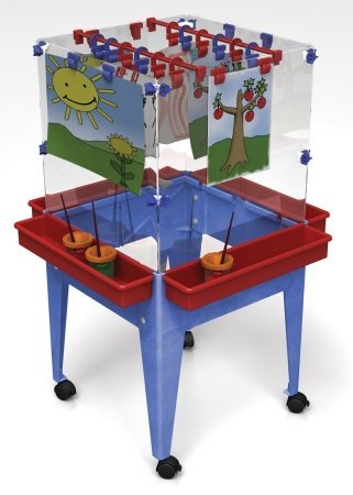 Manta Ray S13824 Youth 4 Station Space Saver Easel S13824
