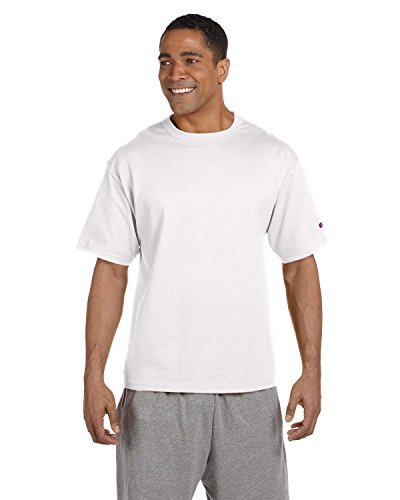 Champion -  T-shirt - Asimmetrico - Uomo bianco Large