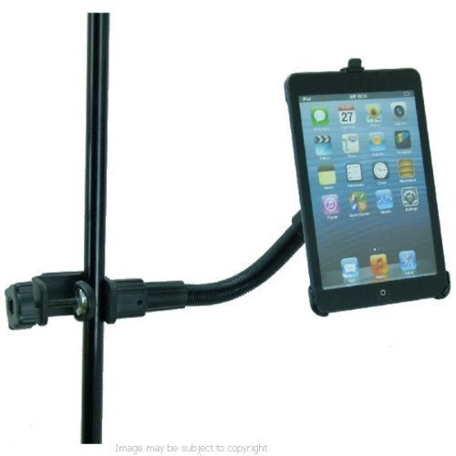 Heavy Duty Music / Microphone Flexi-Neck Mount With Dedicated Holder For Apple Ipad Mini