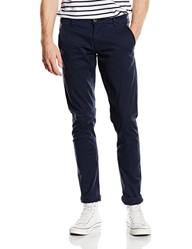 SELECTED HOMME -  Pantaloni  - Chino - Uomo Blu Blu (Navy Blazer) 44