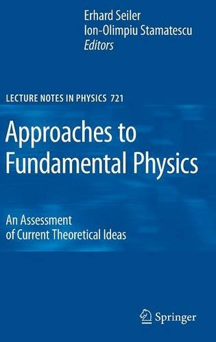 Approaches to Fundamental Physics: An Assessment of Current Theoretical Ideas (Lecture Notes in Physics)