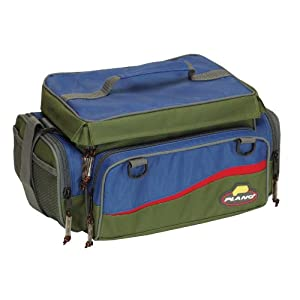 Plano Softsider Tackle Bag with Three 3650 Stowaways (Green/Blue)