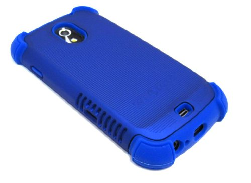 Cell-Nerds Nerdshield Grip Case Cover For The Samsung Galaxy Nexus Sprint (Sph-L700) Or Verizon (Sch-I515) (Blue)