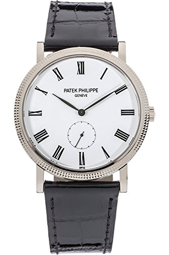patek-philippe-calatrava-36mm-white-gold-watch-on-leather-strap