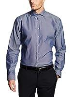 Seidensticker Camisa Vestir (Azul)