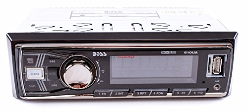 BOSS AUDIO 610UA Single-DIN MECH-LESS  Receiver (Stereo Car compare prices)