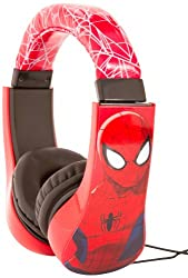 Spiderman Kid Safe Over the Ear Headphone w/ Volume Limiter (30344)