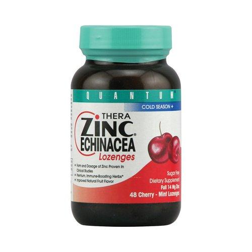 Quantum - Zinc Echinacea Lozenge Cherry, 48 Lozenges