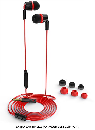 Earbuds for kids with case - in ear earbuds for running