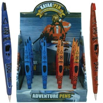Kayak Pen Collectible, 6-inch (1-pc Random Color)
