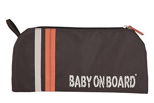 Baby On Board Sac à Langer Orange Marron