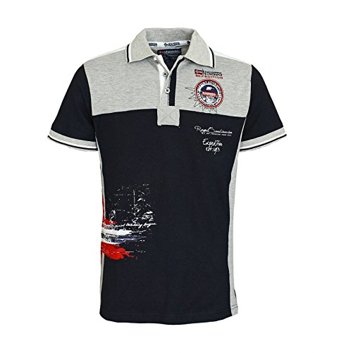 Geographical Norway -  Polo  - Uomo blu navy M