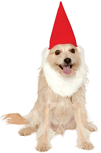 rubies-costume-company-garden-gnome-hat-with-beard-for-hats-small-medium