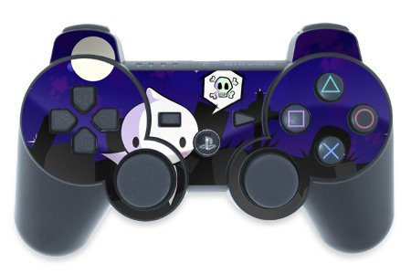 Mygift Spectre Design Ps3 Playstation 3 Controller Protector Skin Decal Sticker