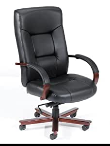 Boss High Back Leatherplus Executive Chair