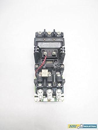 Allen Bradley 509 Cod Magnetic Starter 120v Coil Thermal
