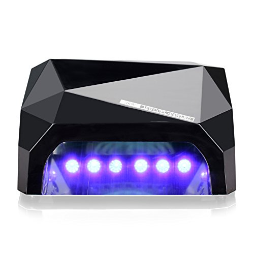 Perfect Summer Professional 36W UV LED Light Nail Dryer Curing Lamp for Gel Nail Polish -Classic Black (French Manicure Nail Polish Set compare prices)