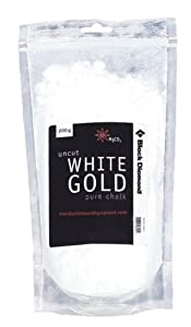 Black Diamond Uncut White Gold Pure Chalk Loose, 300 g white